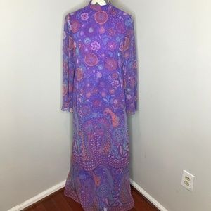 Vintage Rona New York Maxi Dress *READ*